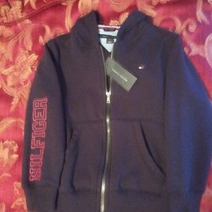 NWT Kids Tommy Hilfiger full zip hood jacket